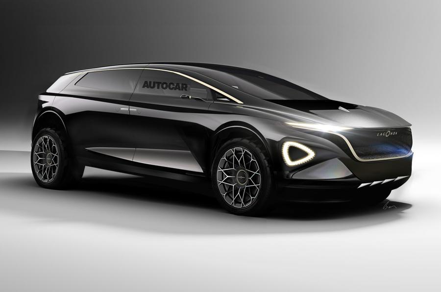 Aston Martin Lagonda electric concept