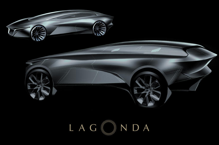 Lagonda to relaunch with 'radical' electric SUV in 2021