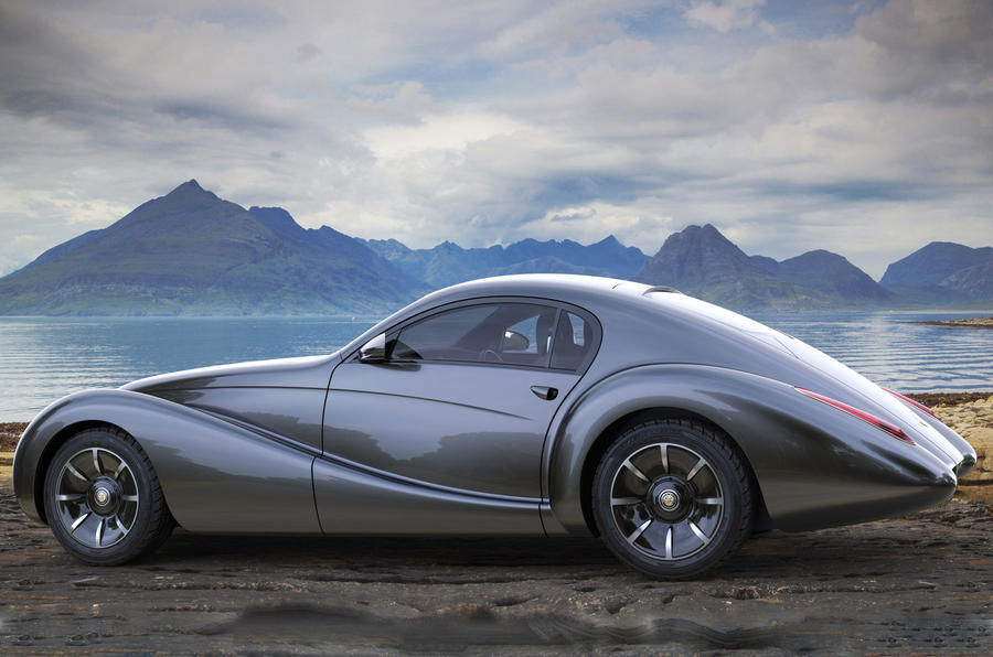 Eadon Green Black Cuillin V12 sports car revealed