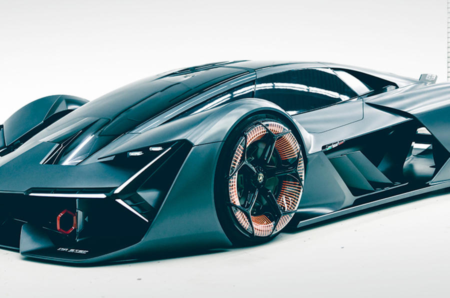 lamborghini terzo millennio concept revealed autocar. Black Bedroom Furniture Sets. Home Design Ideas