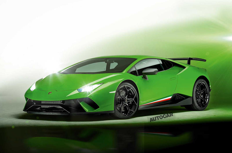New Lamborghini Huracan Performante Exclusive Pictures