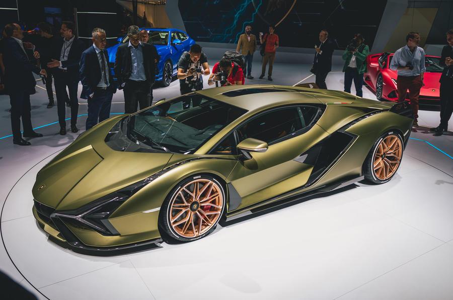 2019 Lamborghini Sian FKP 37 - Frankfurt motor show