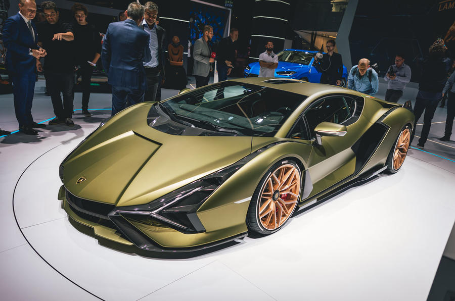 Lamborghini Sian FKP 37 808bhp hybrid honours late VW boss