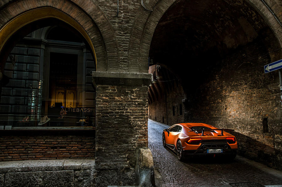 Lamborghini Huracan Performante rear end