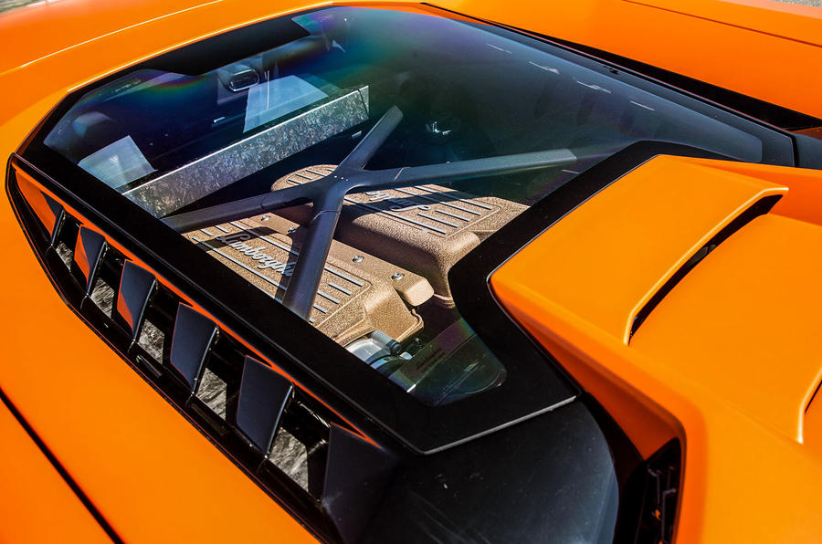 Lamborghini Huracan Performante engine cover