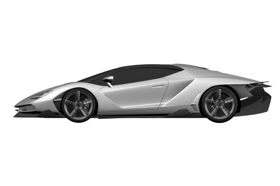 Lamborghini Centenario patent image