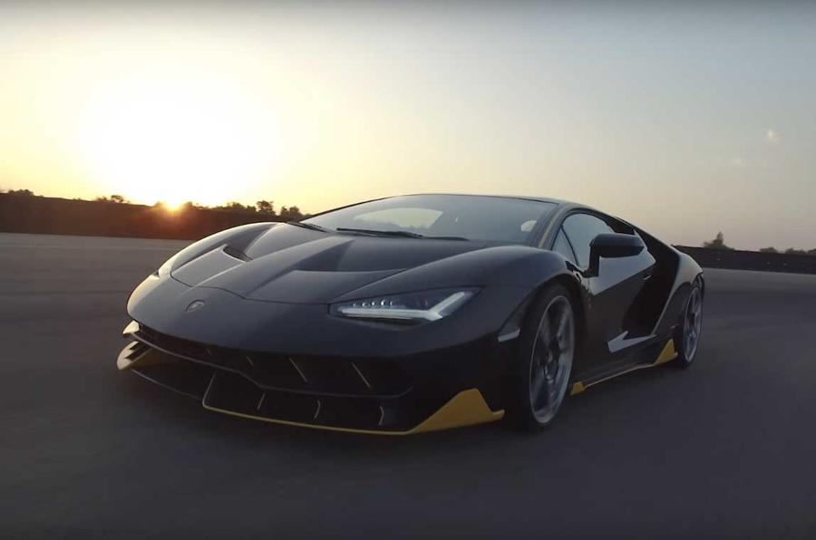 Lamborghini Centenario 759bhp V12 Supercar Shown On Video Autocar