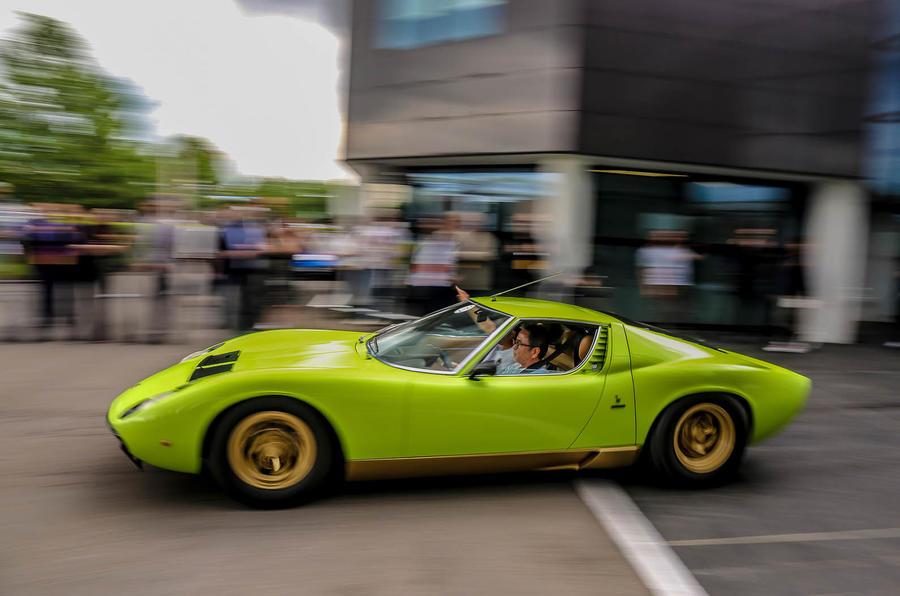 Lamborghini Miura At 50 Italian Road Trip Autocar