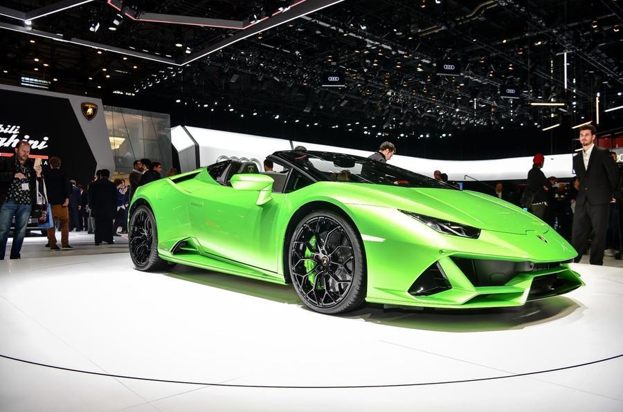 631bhp Lamborghini Huracan Evo Spyder Debuts Autocar