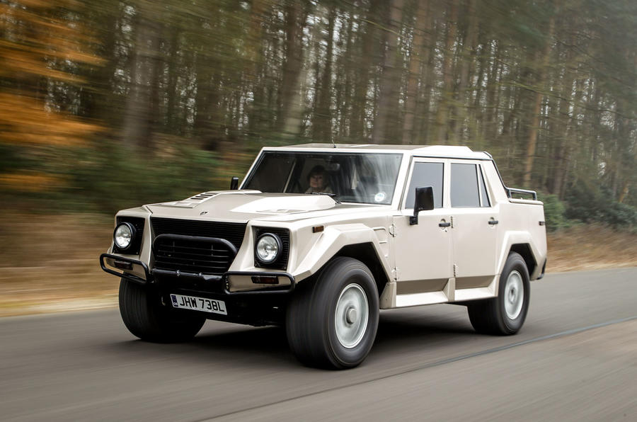 Lamborghini LM002 SUV revisited