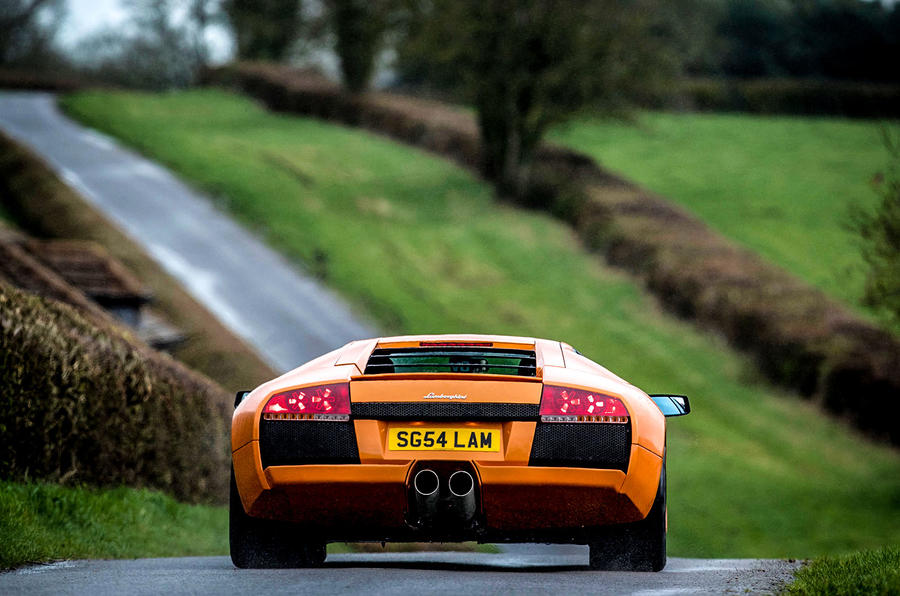 ... Driving A Lamborghini Murcielago With 258k Miles On The Clock ...