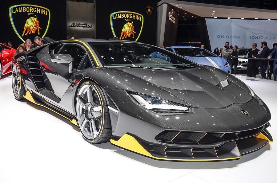 Lamborghini Centenario – 759bhp V12 supercar shown on ...