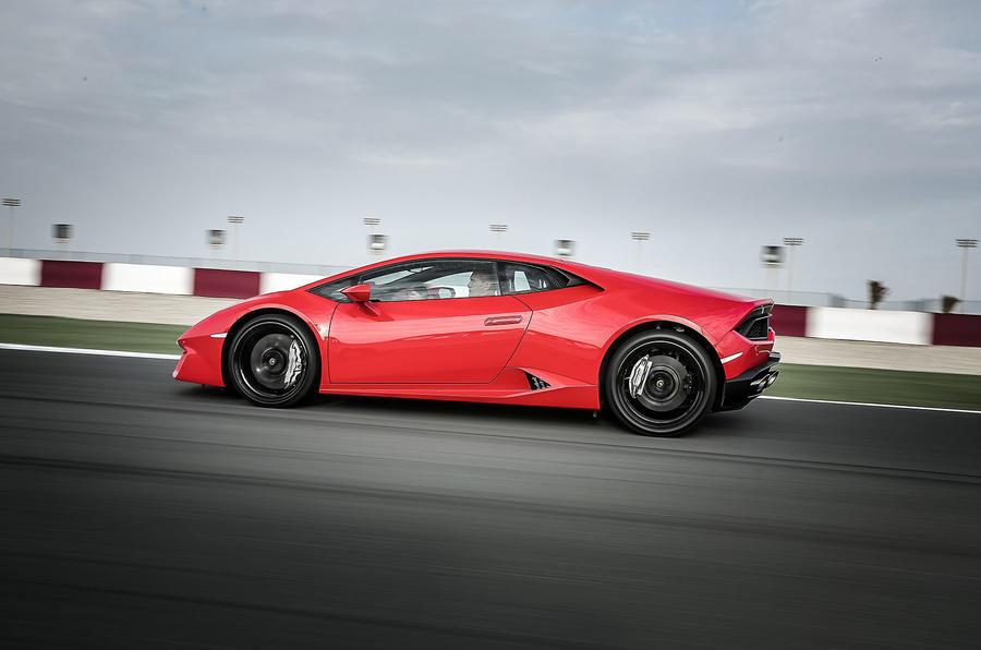 £160,000 Lamborghini Huracan