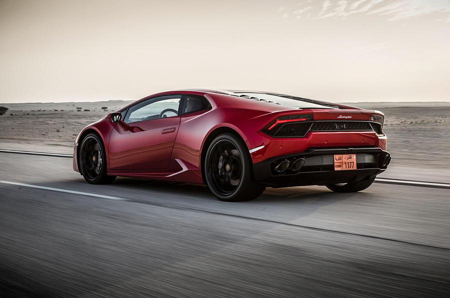Lamborghini Huracan rear quarter