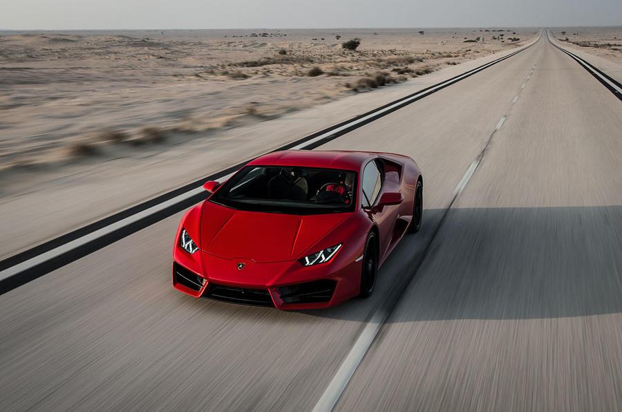 572bhp Lamborghini Huracan LP580-2