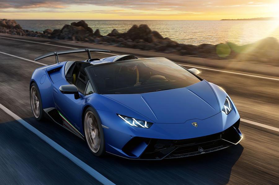 631bhp Lamborghini Huracan Performante Spyder Launched Autocar