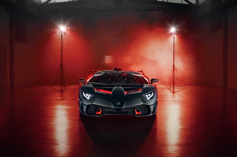 Lamborghini SC18 front