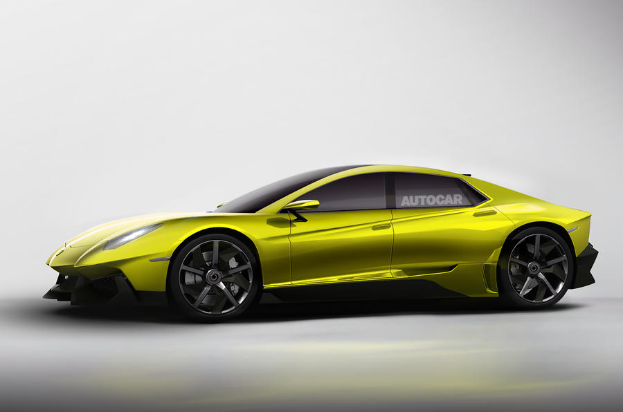 Lamborghini mulls new front engine, four-door model