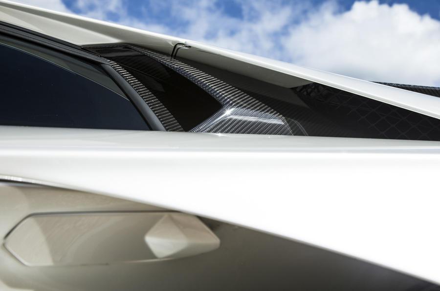 Lamborghini Aventador S air duct