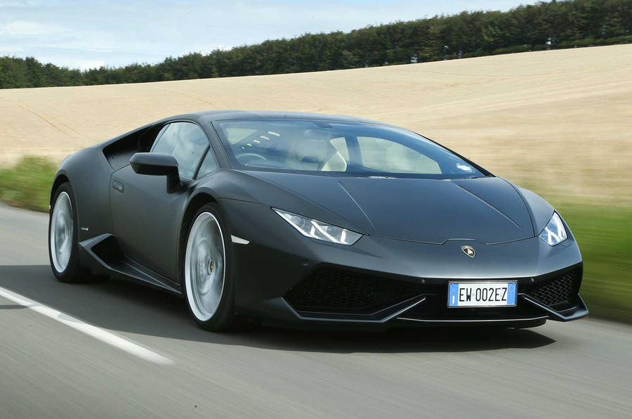 Lamborghini Huracan underpins sales success