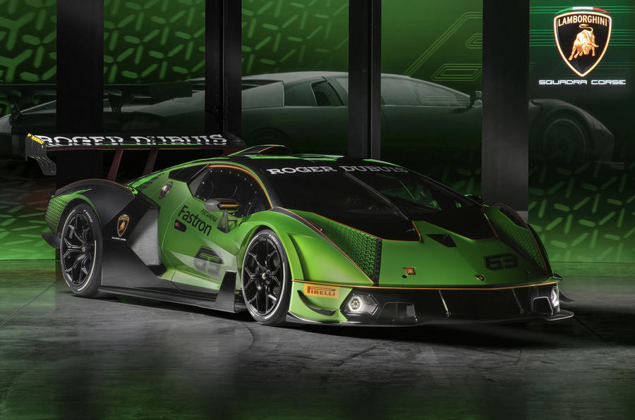 Lamborghini Essenza SCV12 limited-edition 'tracer bullet on track' showcased