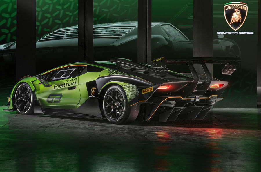 Track-only Lamborghini Essenza SCV12 revealed with 610 kW!