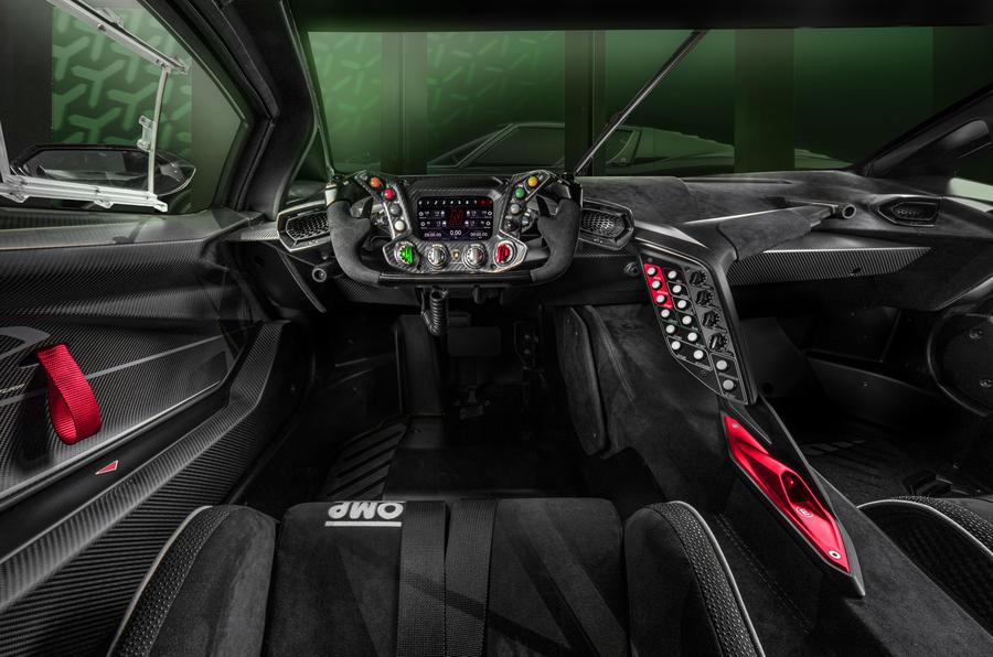 2020 Lamborghini Essenza SCV12 - cabin