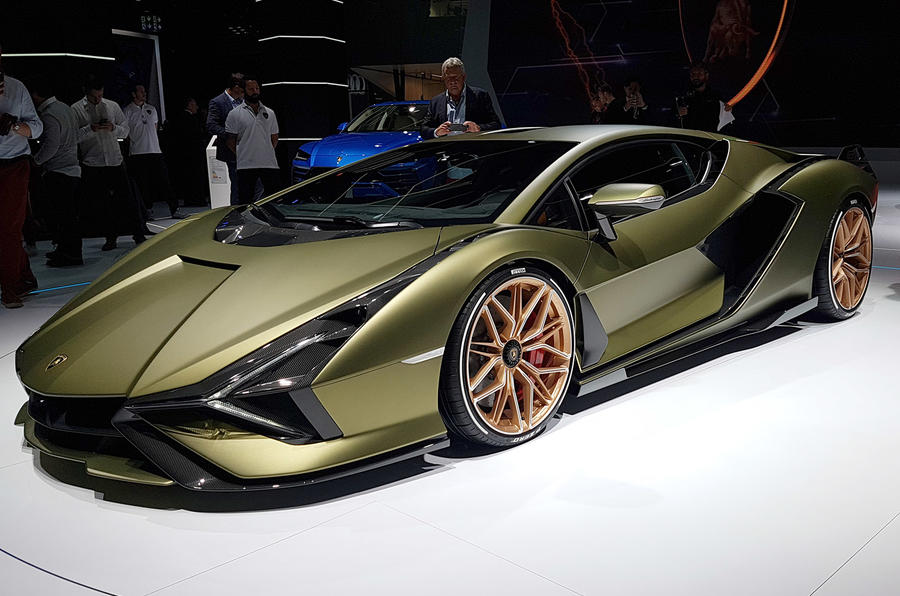 Lamborghini at Frankfurt 2019
