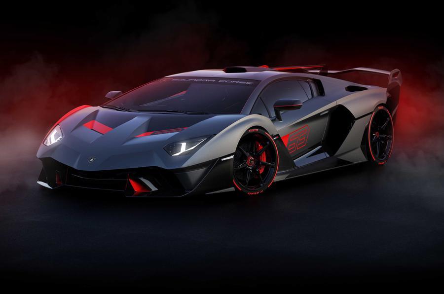 Lamborghini SC18 front three-quarters