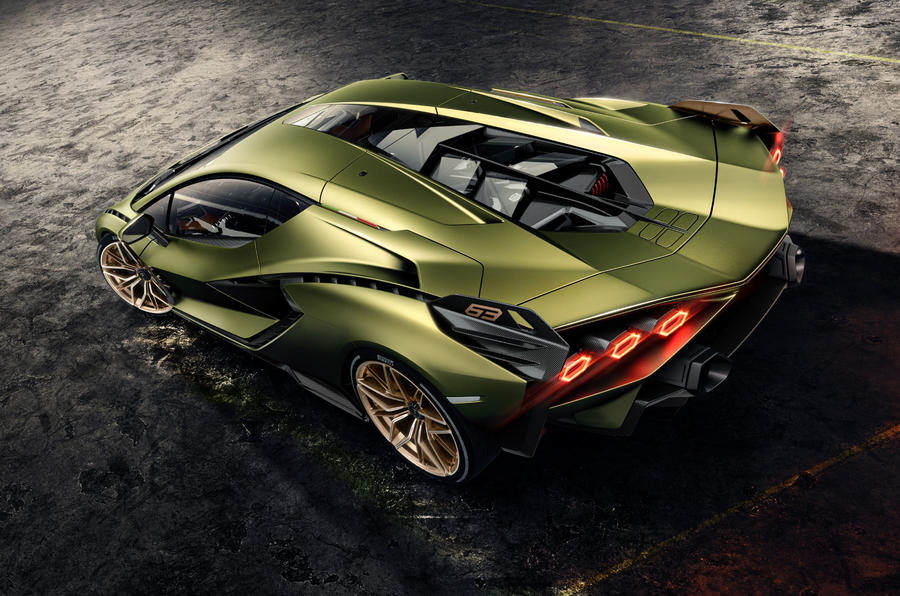 Lamborghini Sian reveal images - static roof