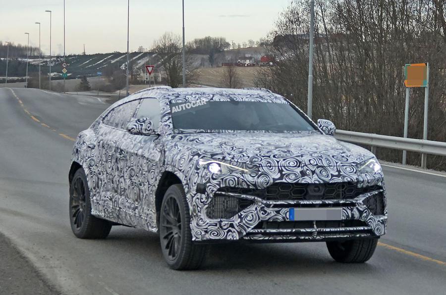 2018 Lamborghini Urus Suv Spotted Testing Picture