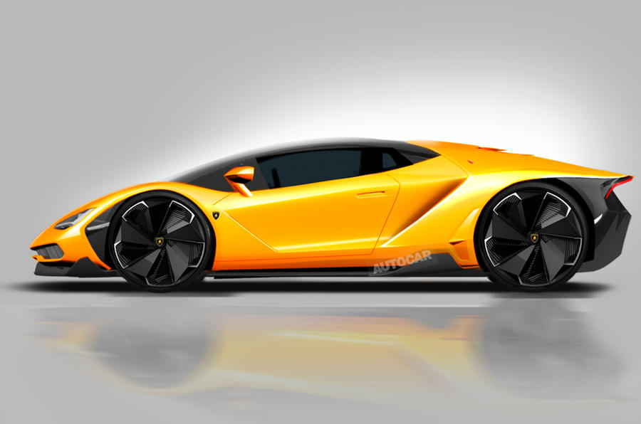 Lamborghini Centenario Styling Revealed Ahead Of Geneva Motor Show
