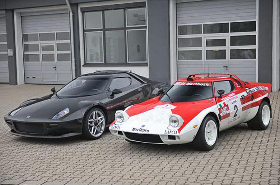 Lancia Stratos and New Lancia Stratos