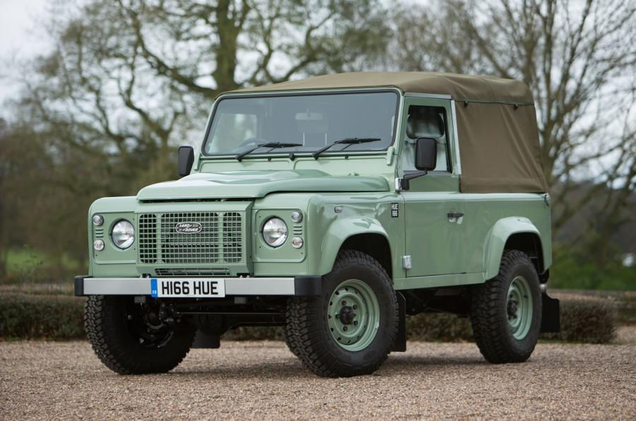 Land Rover Defender last ever
