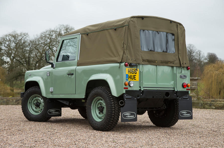 Last ever Land Rover Defender 90