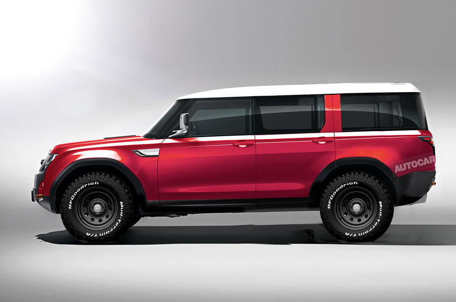 Car Brands Beginning With A >> New Land Rover Defender will be brand's most high-tech car yet | Autocar