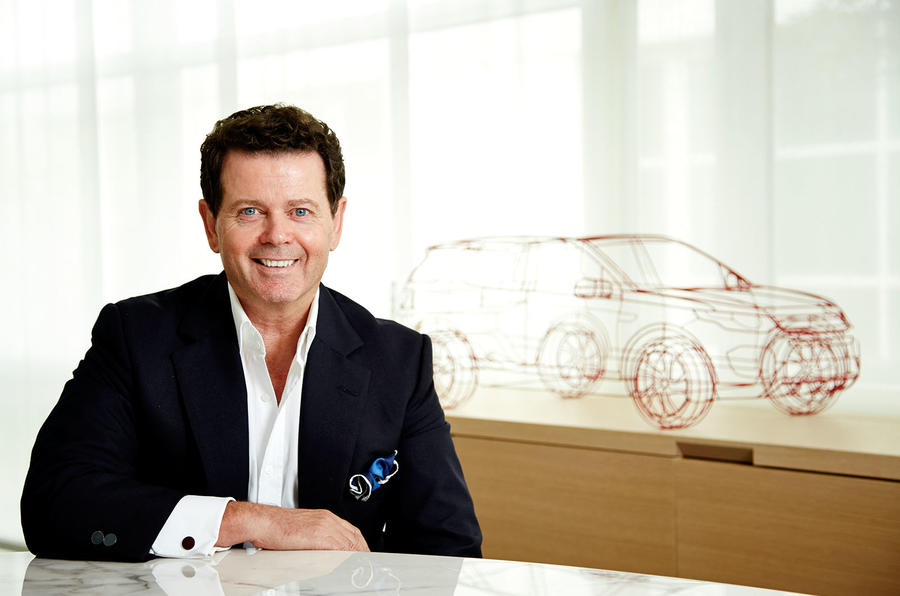 Gerry McGovern, head of design at Land Rover