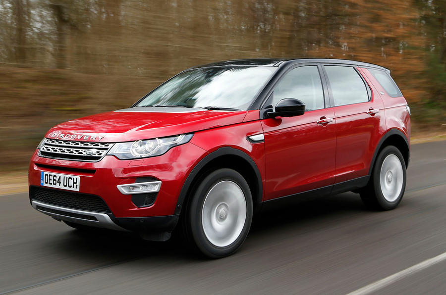 Land Rover Discovery Sport - tracking front