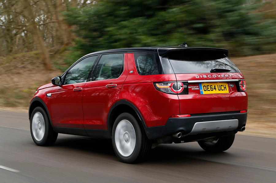 Land Rover Discovery Sport - tracking rear