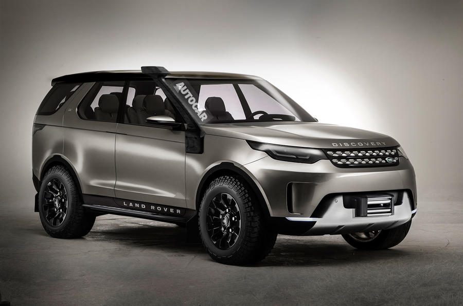 Range Rover Discovery Sport >> JLR's SVO division plans Land Rover Discovery SVX model ...