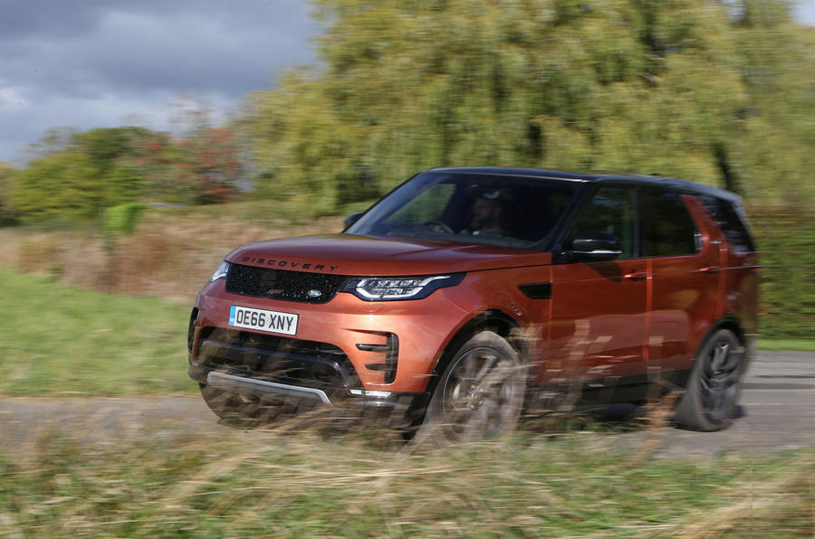 Land Rover Discovery front quarter