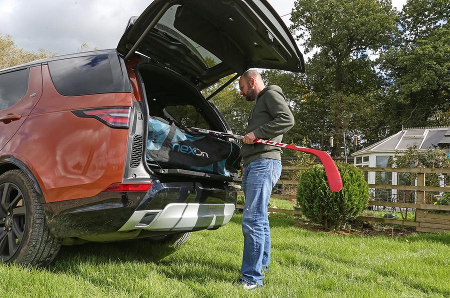 Land Rover Discovery longterm review loading boot