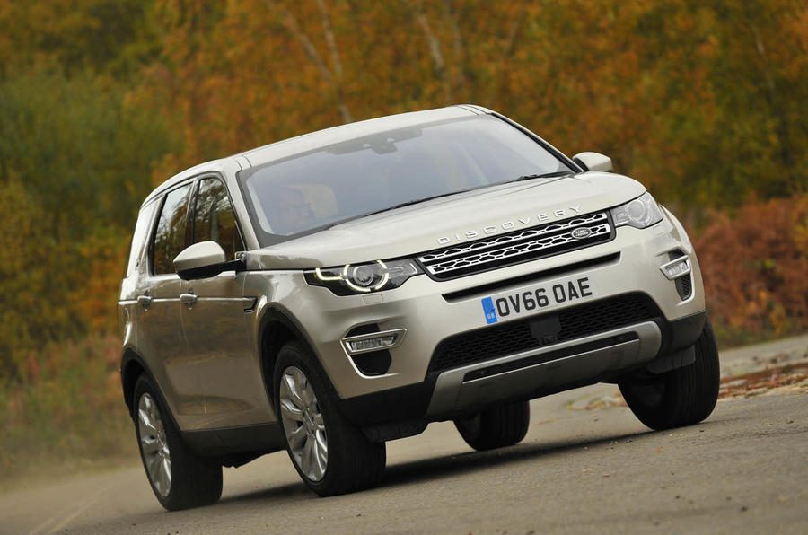 2017 land rover discovery sport hse luxury review review. Black Bedroom Furniture Sets. Home Design Ideas