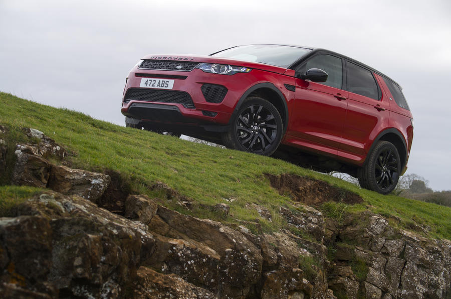 4 star Land Rover Discovery Sport SD4