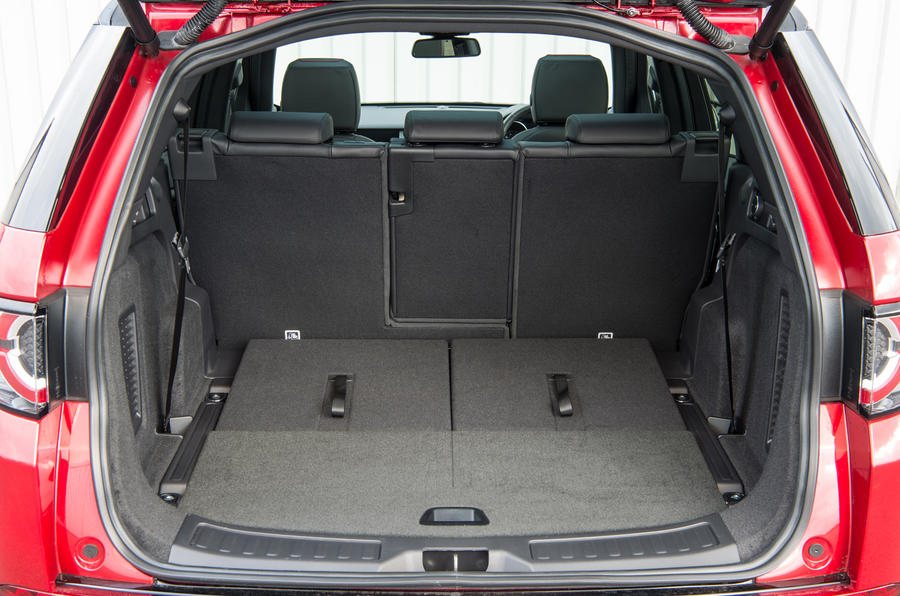 Land Rover Discovery Sport SD4 boot space