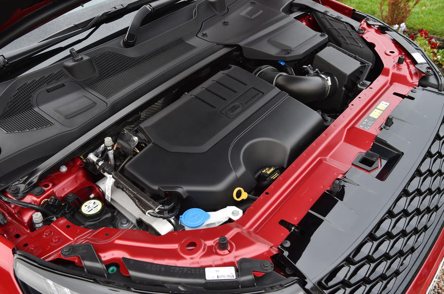 2.0-litre SD4 Land Rover Discovery Sport engine