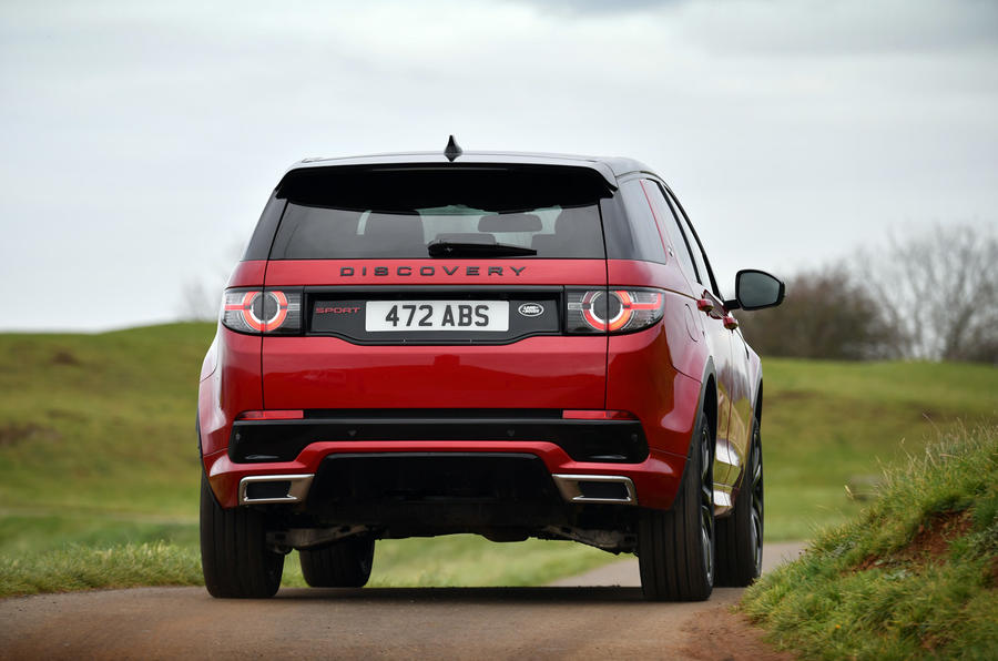 Land Rover Discovery Sport SD4 rear cornering