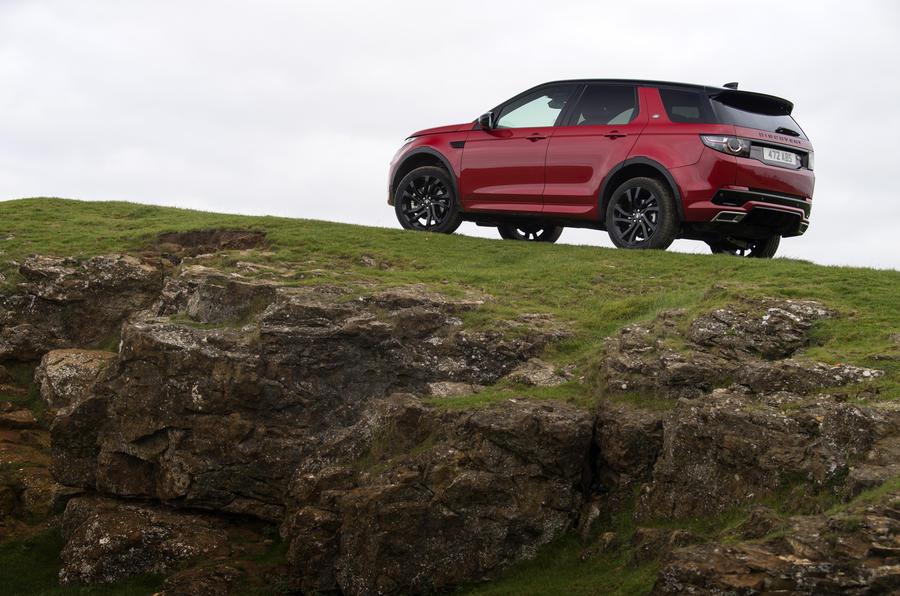 Land Rover Discovery Sport SD4 rear quarter