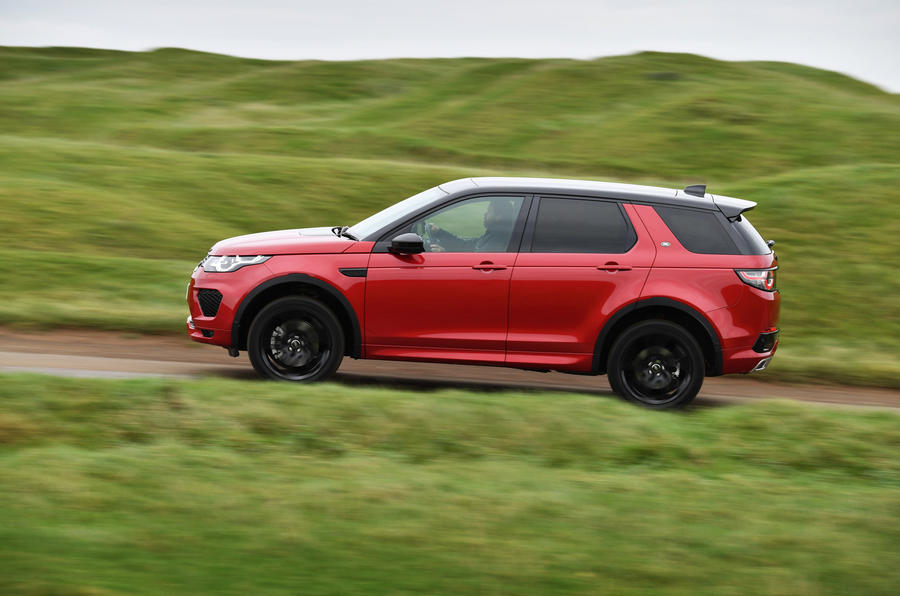 Land Rover Discovery Sport SD4 side profile