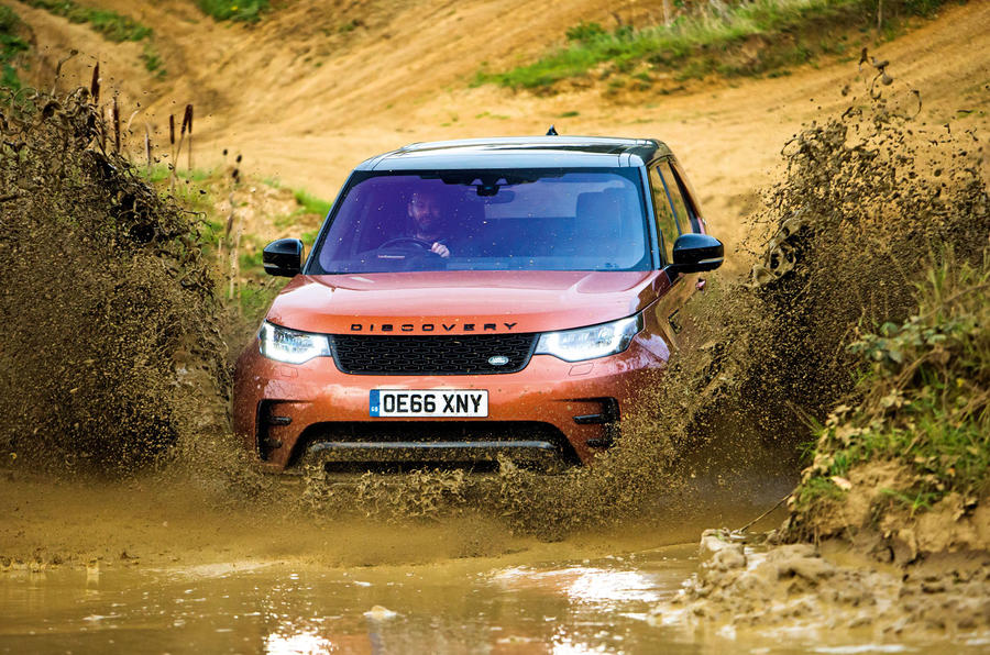 Land Rover Discovery wading
